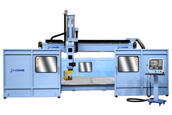 DMS 5 Axis Moving Gantry CNC Router Yellowstone 2