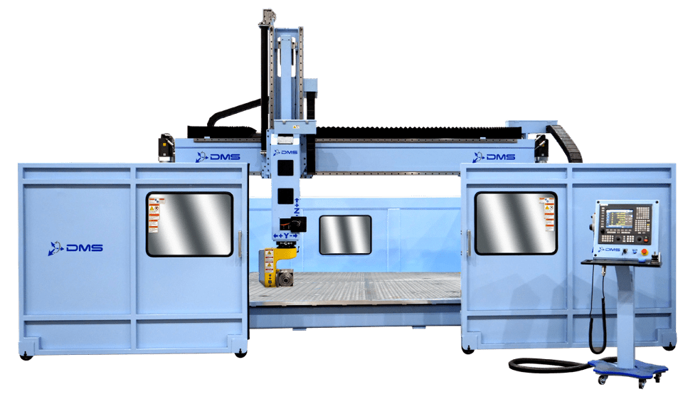 DMS 5 Axis U Frame Gantry CNC Router - Yellowstone