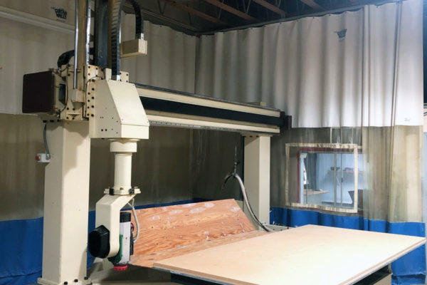 Motionmaster 5 Axis CNC Router E677 FRONT 4