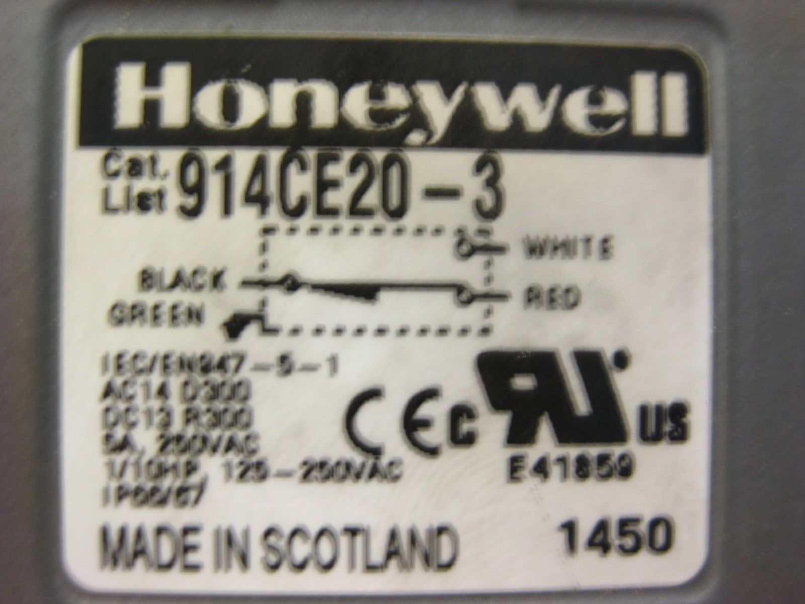 Honeywell Spring Wire Wobble Actuator 914CE20-3 - CNC Parts Dept., Inc.