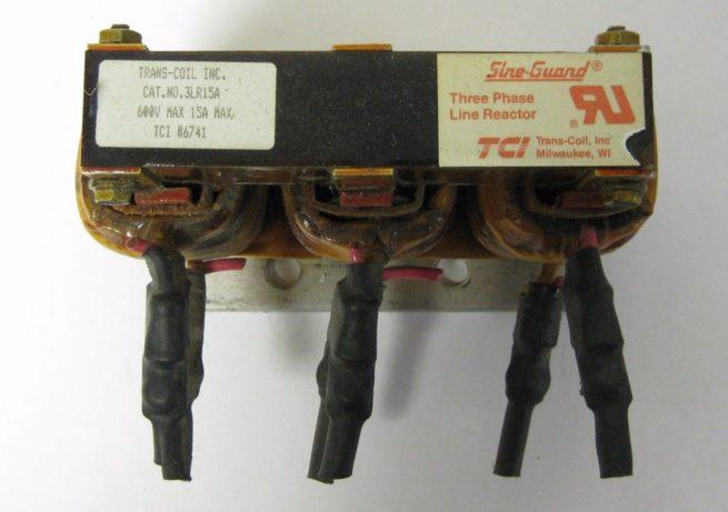 TCI 3LR15A Trans coil Sine Guard Line Reactor 222072211391