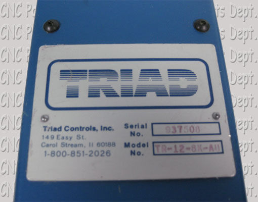 Triad Controls TR 12 8K AU OSHA Safety Light Curtain 321295414581 2