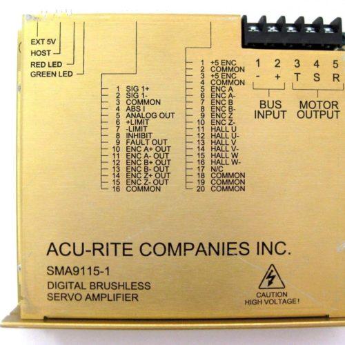 Glentek SMA9115-1 Servo Amplifier
