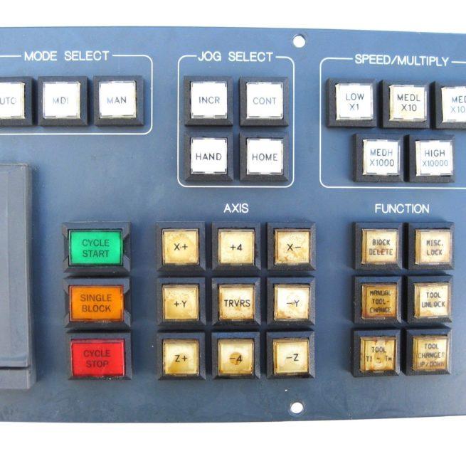 Allen Bradley 8520 MTB2 Operator Panel 222539557692 7