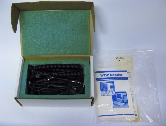 Black Box Corp DA026 Keyboad Wedge Barcode Scannner 222532066262