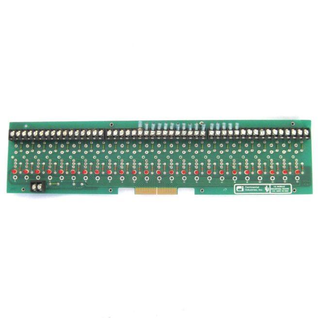 Continental Industries IO UMR-24-000 IO Module Mounting Board 1