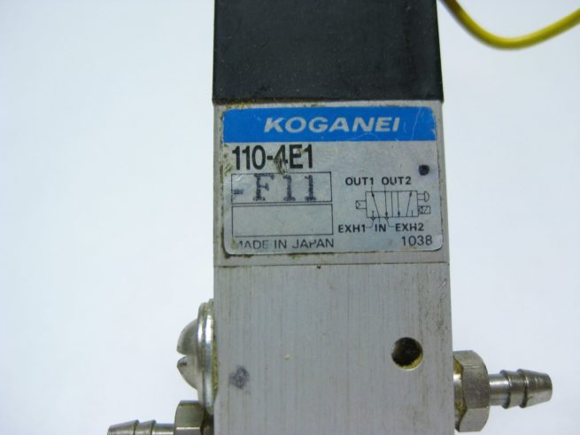 Lot of Koganei Pneumatic Solenoids 110 4E1 322564086215 4