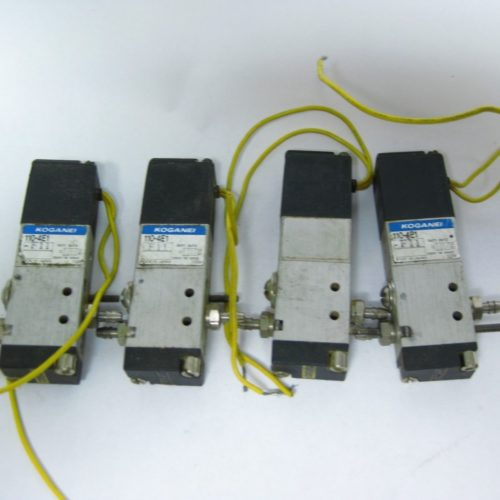 Lot of Koganei Pneumatic Solenoids 110 4E1 322564086215