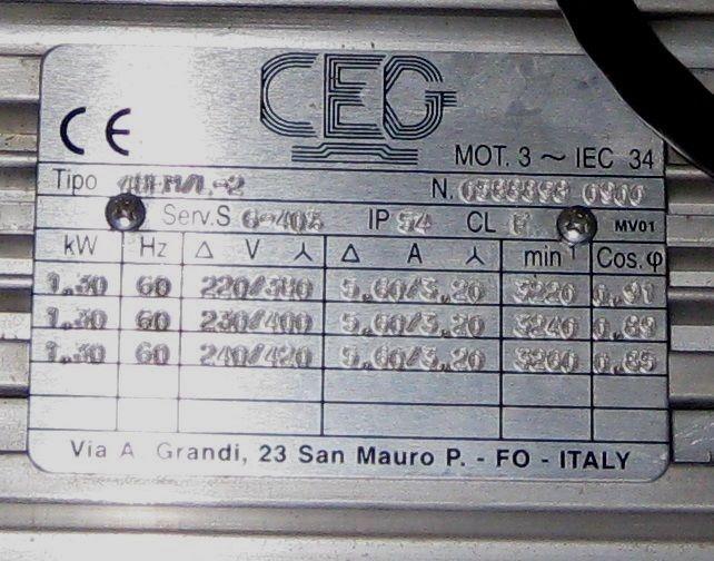 CEG 48 EML 2 AC Servo Motor 321700634236 6