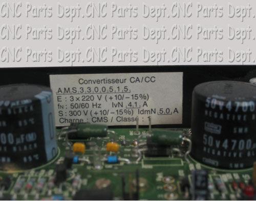 GEC Alsthom Servo Drive Convertisseur CACC AMS3300515 322550220416 2