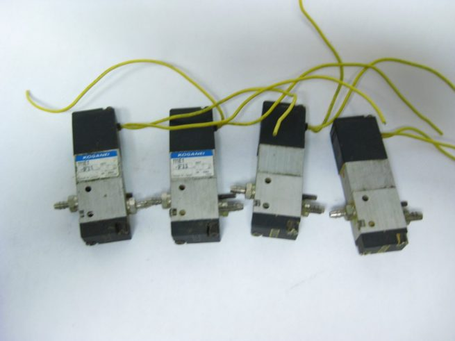 Lot of Koganei Pneumatic Solenoids 111E1 222555607976