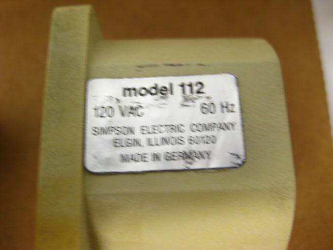 Simpson Elapsed Time Meter Model 112 322626448196 4