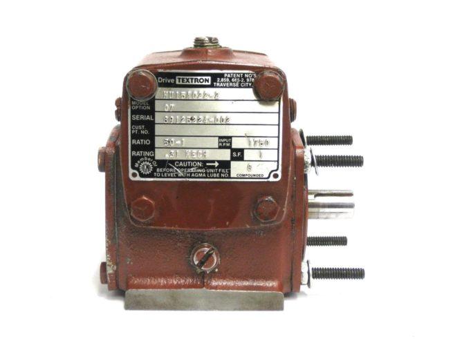 Textron HU15A022 2 Cone Drive Gear Reducer 321784619246 2