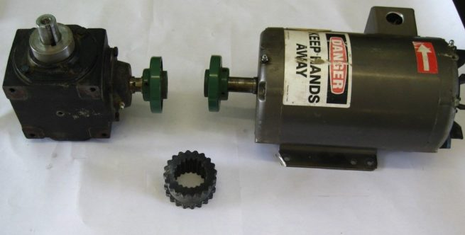 Baldor Industrial Motor 35A01T123 with Hub City Gearbox 0220 00814 150 222598957957 2