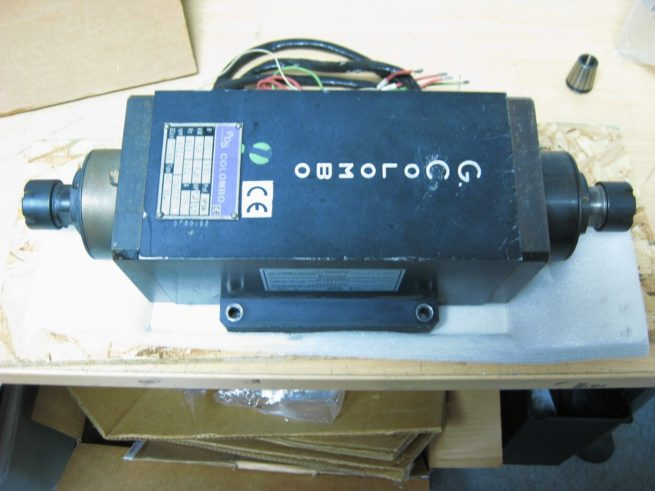 Colombo RC 9022 75hp Dual Ended Spindle Motor S90C353 75BI 222568952688 2