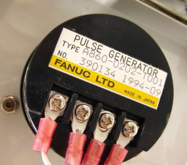 Fanuc Manual Pulse Generator Pendant A860 0202 T001 322611454108 4