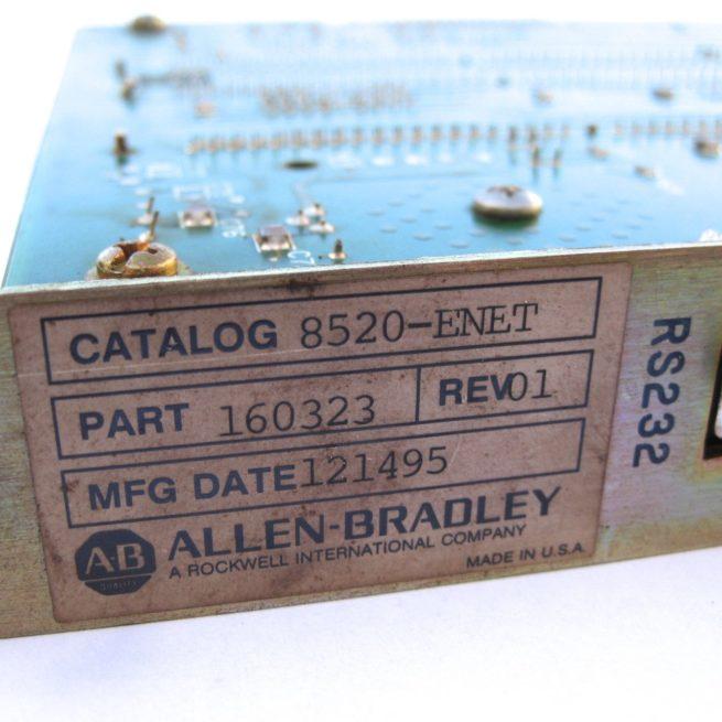 Allen-Bradley 8520-ENET Communication Module 3